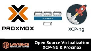Homelab / Office Lab Open Source Virtualization XCP-NG & Proxmox Compared