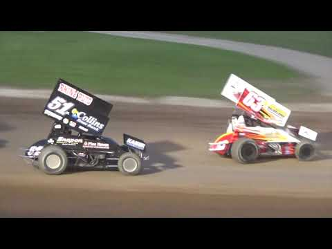 Plymouth Dirt Track Sprint Car Feature Highlights June 1 2019