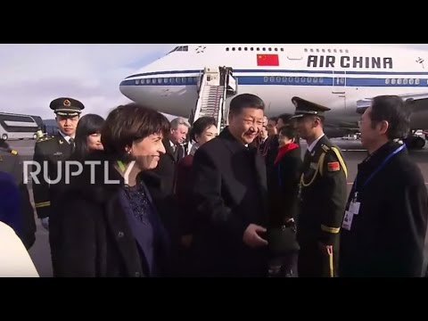 Switzerland: Xi Jinping arrives in Zurich ahead of World Economic Forum