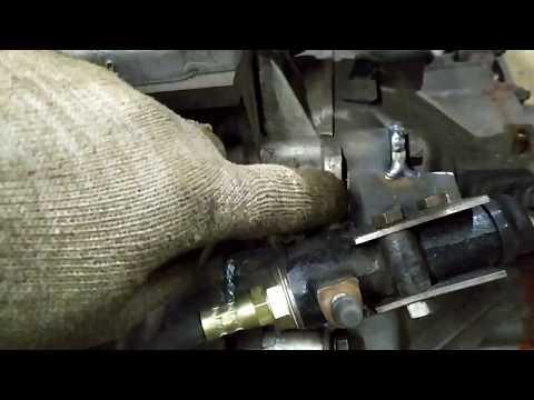 Сцепление и тормоз на самодельном квадроцикле #10