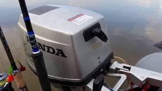 Японський човновий мотор Honda BF 9 9 4 такту