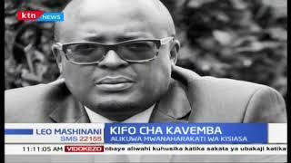 Aliyekua mwanaharakati wa kisiasa Mutinda Kavemba afariki