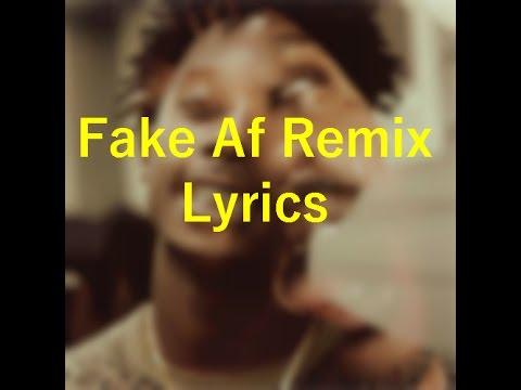 Fake Af Remix LYRICS - Father ft Playboi Carti