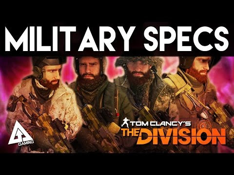 The Division - Military Specialists DLC PACK | Cosmetics Pack