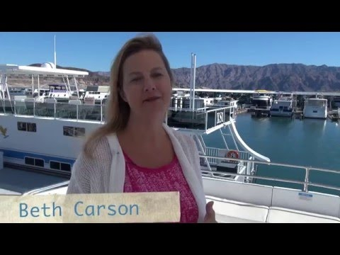Houseboat Tour on Lake Mead with Beth Carson