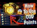 How to Use COD POINTS (Purchase Tiers, Special Orders and MORE) | Black Ops 4