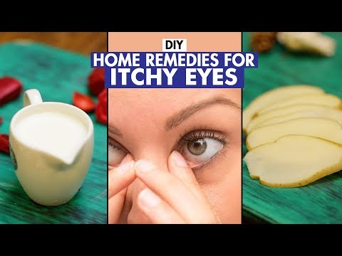 Home Remedies For Itchy Eyes   DIY   Fit Tak
