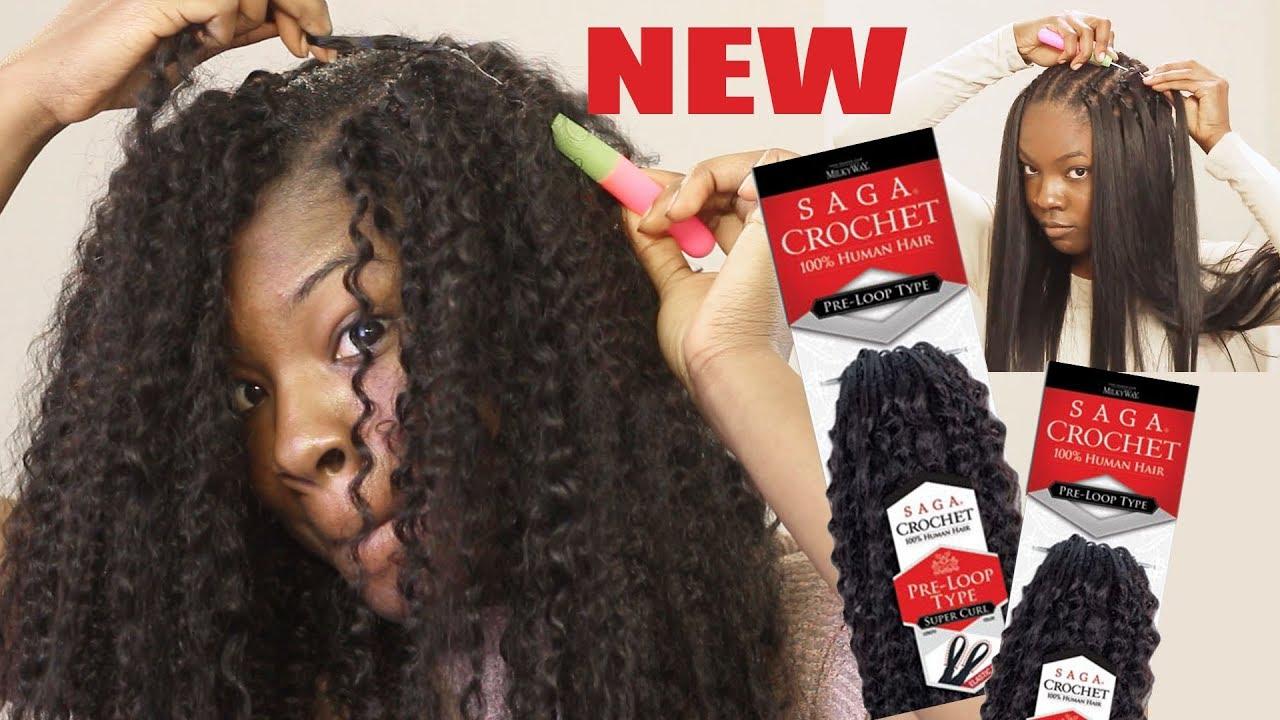 I Tried Human Hair Crochet Is It Legit Will It Curl Straighten