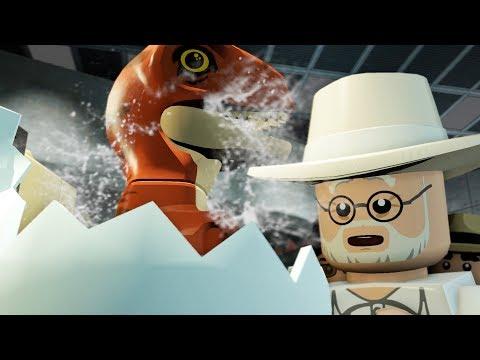 Lego Jurassic World   HOW TO MAKE A DINOSAUR!!   Lego Jurassic World HD Gameplay - Part 2