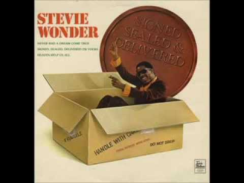 Stevie Wonder - Signed, Sealed, Delivered I'm Yours