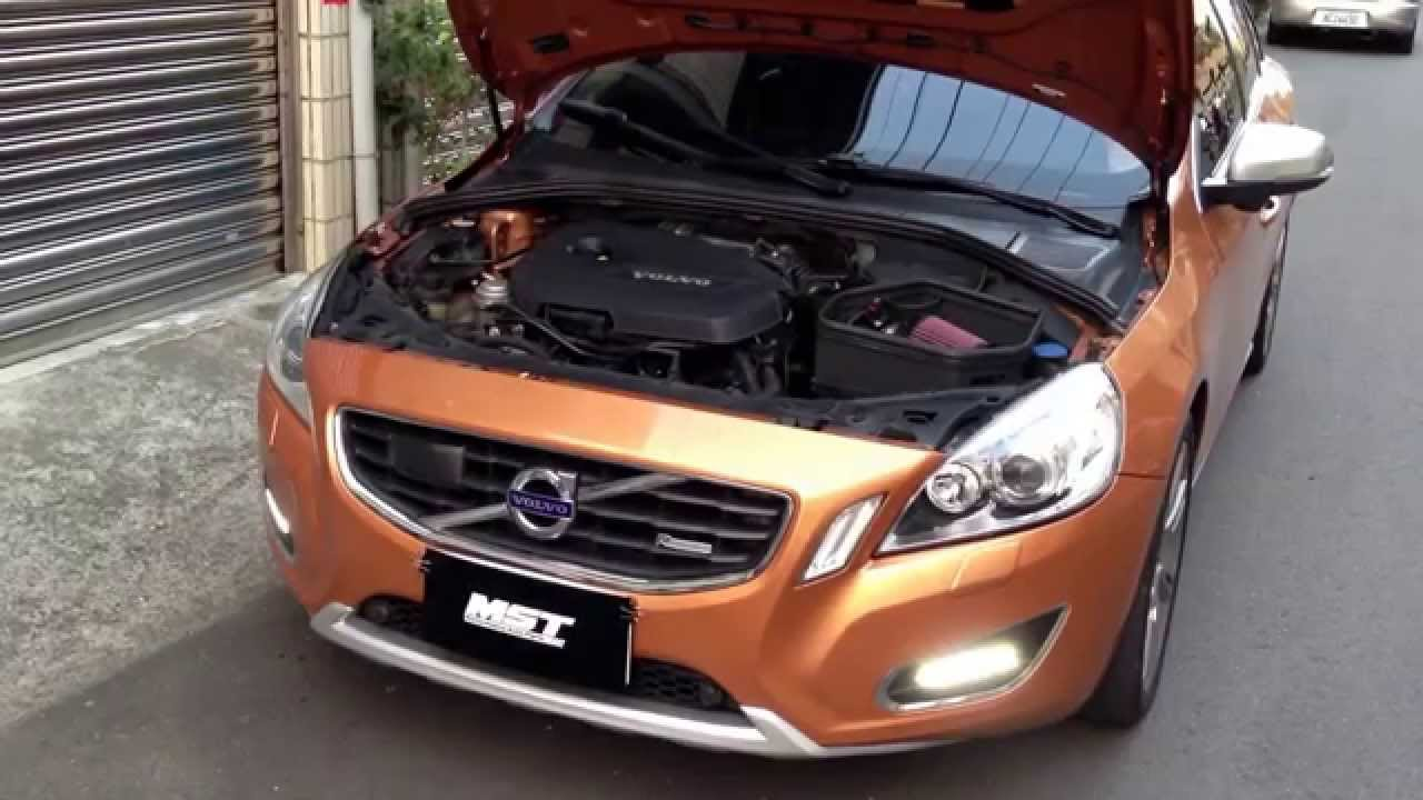 Volvo S60 1.6L T4 MST induction kit - YouTube