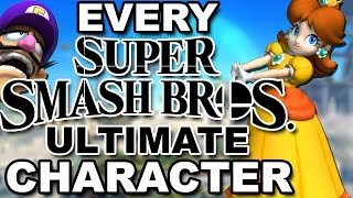 Every CONFIRMED Super Smash Bros Ultimate Character!