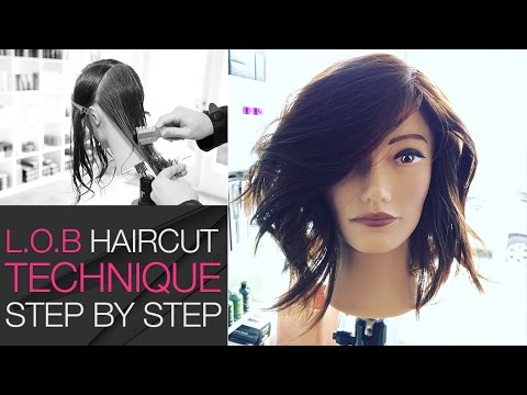 How to Cut a Lob Haircut With A Razor In Under 10 Min