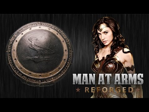 Wonder Woman Shield - MAN AT ARMS: REFORGED
