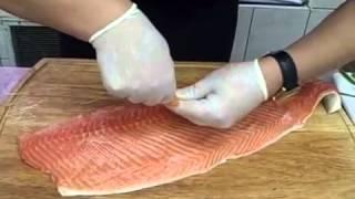 видео Как засолить форель в домашних условиях вкусно и быстро
