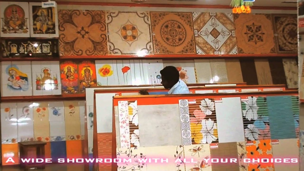 Colorful Wall Stickers Vinayaga Traders Chennai Tile Shop Youtube