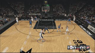 NBA 2K15 - How To Score With Spurs Motion Offense