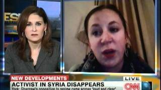 The plight of Razan Ghazzawi is discussed on CNN by Hala Gorani and Jillian York Dec 5th 2011
