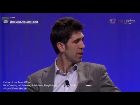 SSAC16: Future of the Front Office