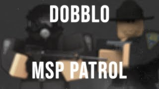 [60] MSP PARTOL, THE DRIVER ALMOST GOT AWAY!!! | New Haven County ROBLOX