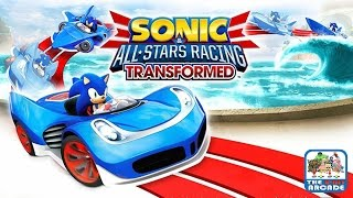 Sonic & all-stars racing transformed: grand prix - dragon cup (xbox one bc gameplay)