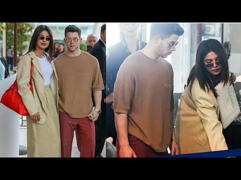 Priyanka Chopra And Nick Jonas Bid Adieu To Cannes Film Festival and Spotted at Airport |Cannes 2019
