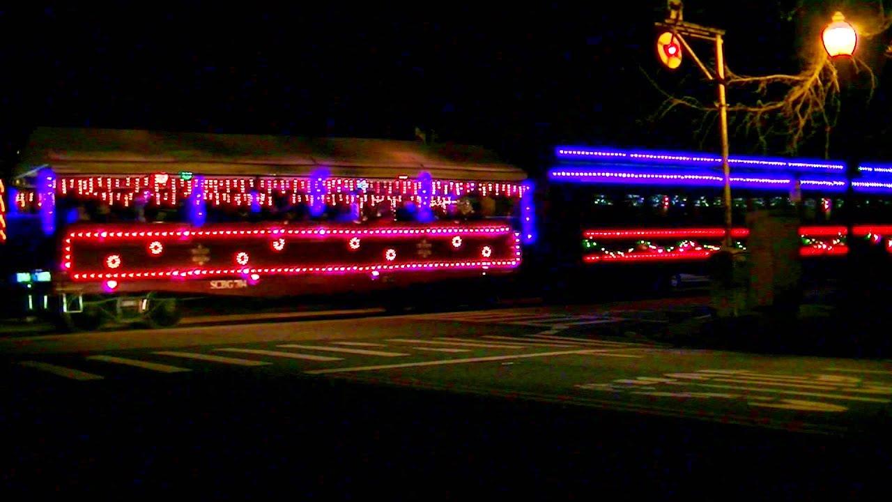 the 2014 caltrain and santa cruz christmas specials