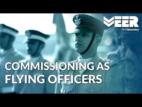 Indian Air Force Academy E4P5 | Commissioning as Flying Officers of IAF | Veer by Discovery