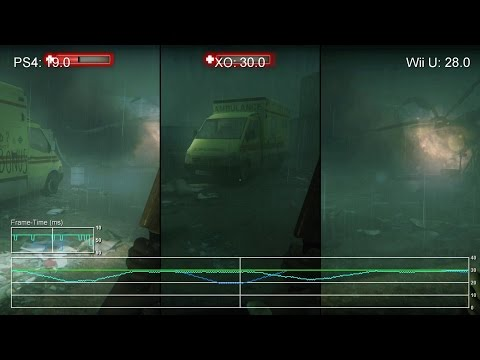Сравнение качества текстур и FPS в игре Zombi на Xbox One, Playstation 4 и Wii U