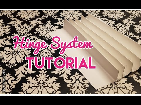 Super Easy Hinge Tutorial for Mini Albums - Requested