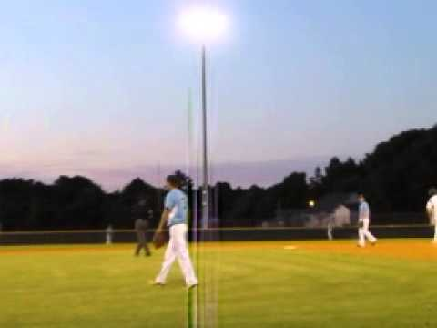Carl Bradshaw hits homer #2 Croatan High School