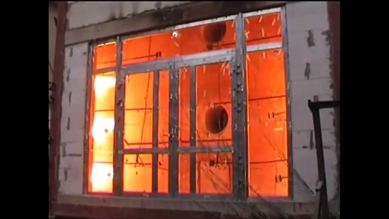 Reynaers CS 77 Fire Proof Tests | Altitude Aluminium - YouTube