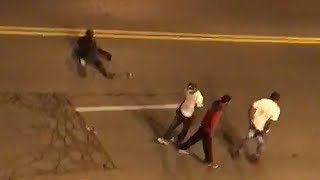 Man lies down on Syracuse street moments before death