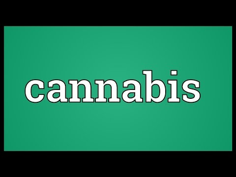 Cannabis Meaning
