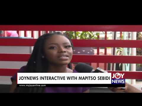 A rising star GYAKIE on JoyNews Interactive with Mapitso Sebidi (24-2-21)