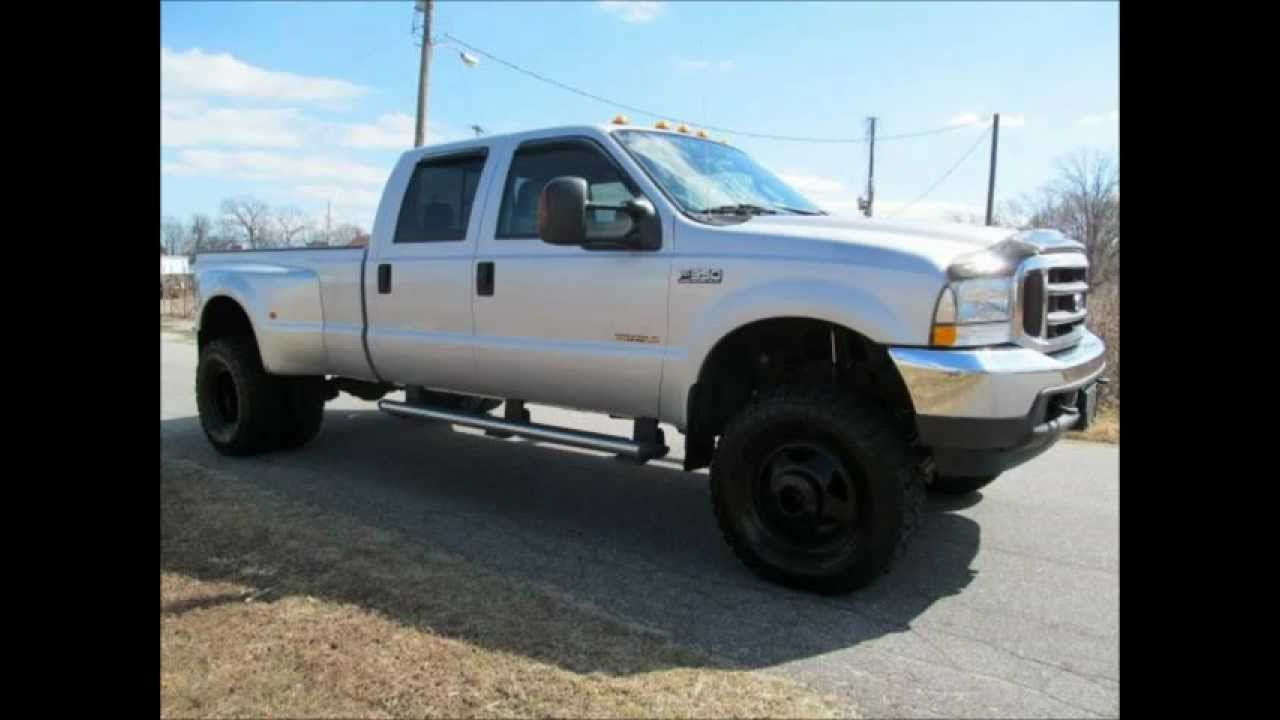 2004 ford f 350 diesel dually lariat lifted truck for sale youtube. Black Bedroom Furniture Sets. Home Design Ideas