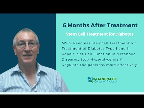 Stem Cell Treatment Diabetes Type 1 & Type 2 New with Beta Cell Transplants