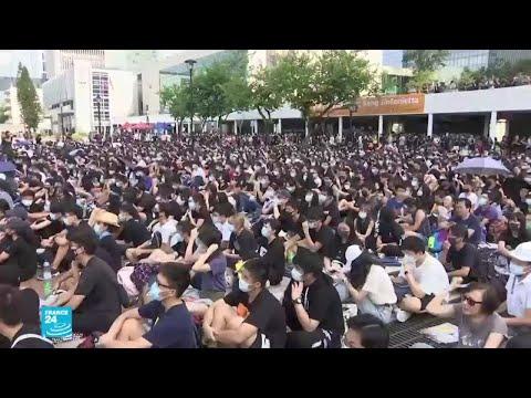 خطوة جديدة للمحتجين في هونغ كونغ  - نشر قبل 4 ساعة