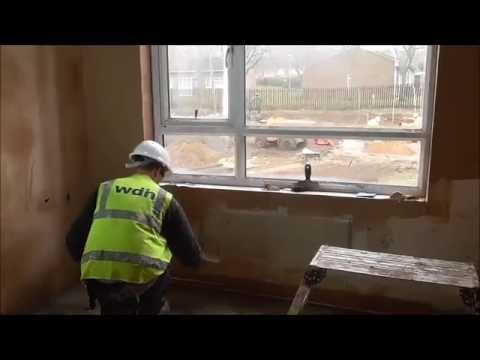 What does a WDH apprentice plasterer do?
