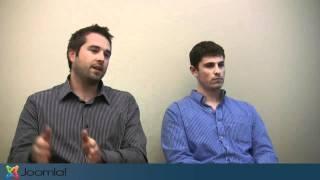 Joomla Community:  Kevin Rice and Jesse Dundon of Hathway