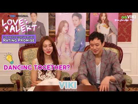 [Vietsub] Yoon Eun Hye & Chun Jung Myung - Drama Love Alert ~ Viewer  Ratings Promise with Viki Fans
