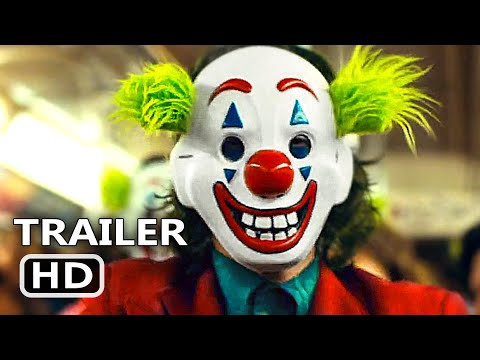 JOKER Official Trailer # 2 (2019) Joaquin Phoenix Movie HD