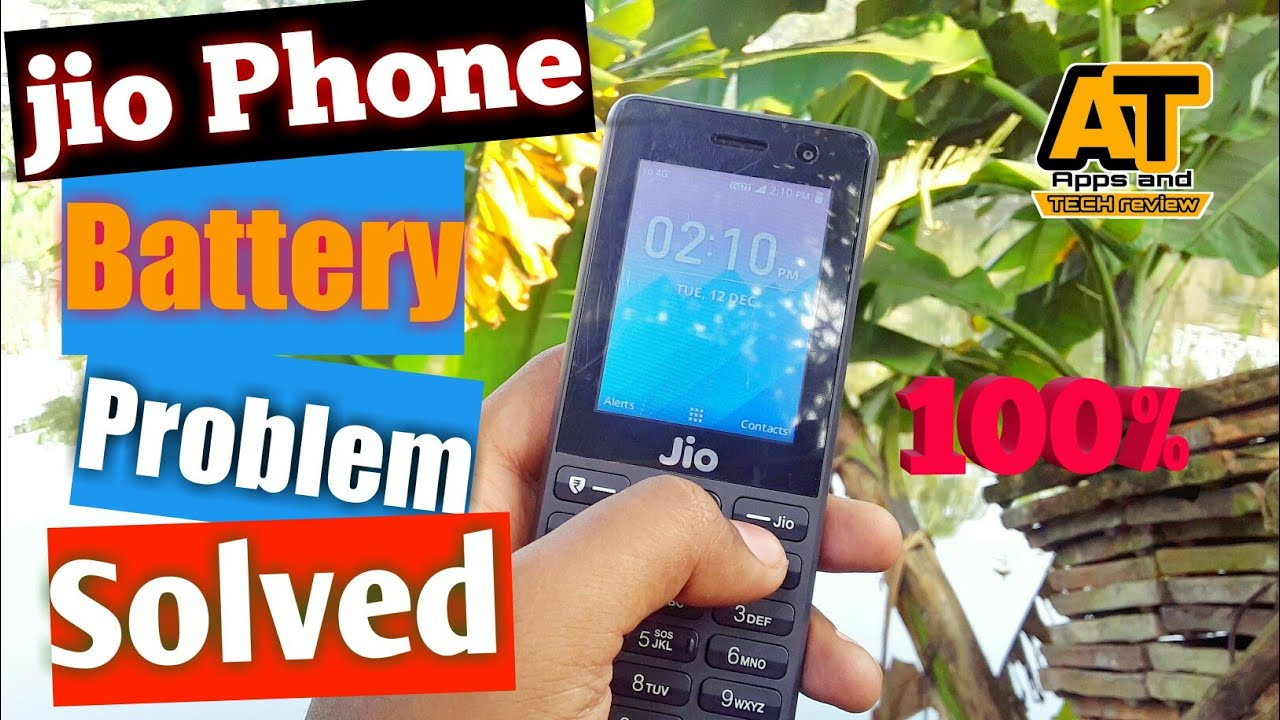 Jio phone battery problem solve    How to save jio phone battery