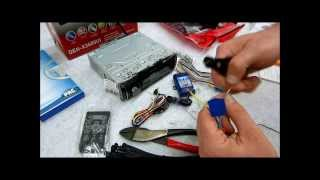How to wire up and prep a new radio, dash kit, harness and steering wheel adapter