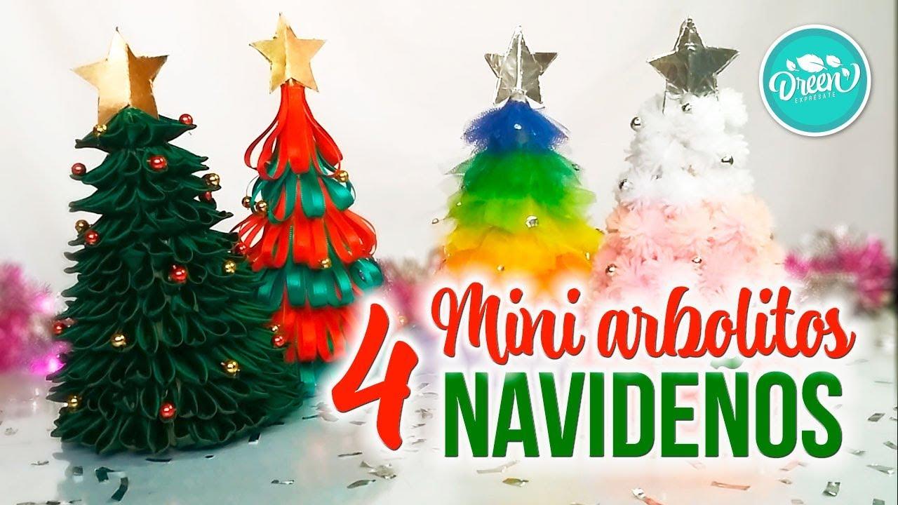 diy mini arbolitos navideos parte 1 dreen navidad - Arbolitos De Navidad