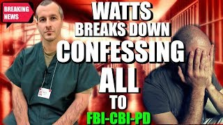 CHRIS WATTS PRISON CONFESSION! TRIPLE ENHANCED AUDIO!| *HEARTBR3AKING