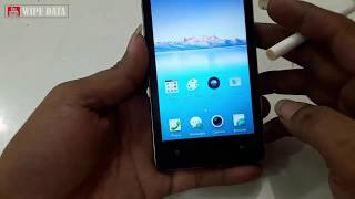 OPPO A11W WIPE DATA - FACTORY RESET