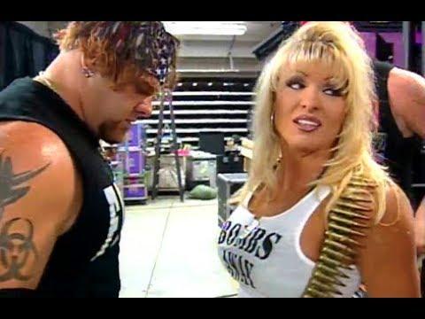 (720pHD): WCW Nitro 08/07/00 - Major Gunns & Misfits In Action Backstage