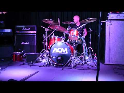 Drum solo live @ The Academy of Contemporary Music - 2012 Claus Thylstrup