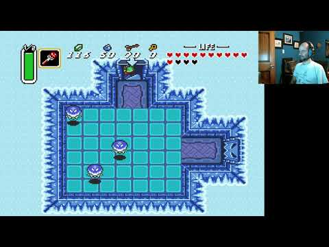 Zelda Link to the past part 10, Dark World level 5